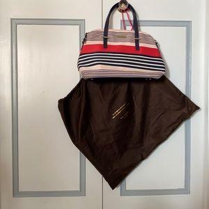 Kate Spade Cedar Street Stripe Maise Satchel Bag
